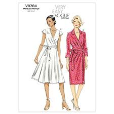 Vogue Dress Patterns Interesting Amazon Vogue Patterns V448 Misses Dress Size A448 44848484848