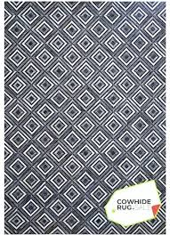 geometric rug neutral colors of black white and gray combine in the ultramodern features square patches