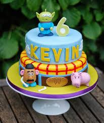 Toy Story Birthday Cake Vanilla Frost Cakes