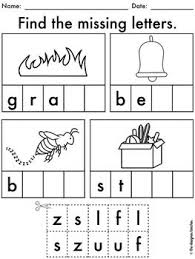 Printable phonics worksheets for kids. Pin On Preschool