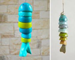 Plastic Egg Wind Chimes | 32 DIY Wind Chimes