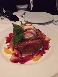 Warm Butter Cake Picture Of Mastros Steakhouse New York City