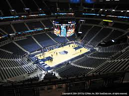 Fedex Forum View From Terrace Level 221 Vivid Seats