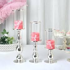 silver hurricane candle holders hurricane candle holder