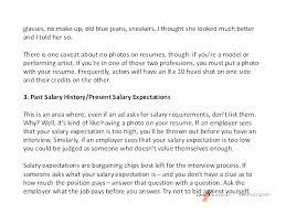 Resume Cover Letter With Salary Requirements Vbhotels Co