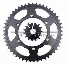 racing motorcycle parts chain 530 front rear sprocket 49 15t for