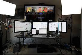 home office computer setup. Home Office Desk Setup . Incredible Computer