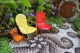 how to make fairy garden furniture. Modren Make Fairy Garden Lawn Chairs House Miniatures At Beneaththefernsw  Fairyhouse In How To Make Garden Furniture E