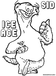 Small Picture Ice Age coloring pages Coloring pages to download and print