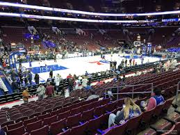 Wells Fargo Center Section 111 Philadelphia 76ers