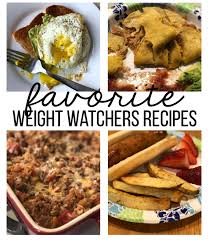 my favorite weight watchers recipes thirtyhandmadedays