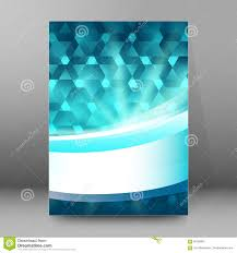 Brochure Cover Pages Background Report Brochure Cover Pages A4 Style Abstract Glow53