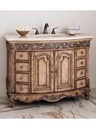 antique looking bathroom vanity. 48\ Antique Looking Bathroom Vanity