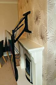 pull down tv mount. Fireplace Tv Mount Pull Down Drop Wall Out Flat .