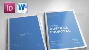 It Proposal Template Word InDesign INDD Free Template Clean Proposal YouTube 16