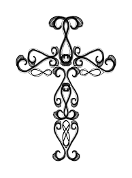 spectacular drawings of crosses clip art with cross coloring pages ...