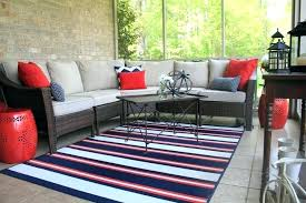 indoor outdoor rug best stripe with patio furniture 5x8 rugs fu