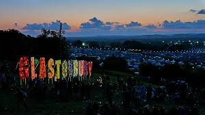 Fabulous Glasto or The Glastonbury Festival held every year in Somerset