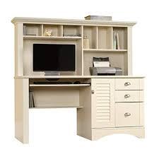 White desk with hutch Beautiful Sauder 158034 Harbor View Computer Desk With Hutch L 6221 Amazoncom White Computer Desk With Hutch Amazoncom