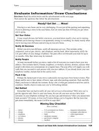 Worksheets. Drawing Conclusions Worksheets 5th Grade. Opossumsoft ...