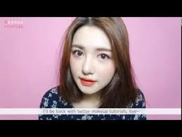 makeup tutorial korean style natural look 2016 eng 퍼플 포인트 메이크업 2016
