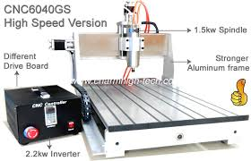 assembly usb 3 axis advanced cnc router 6040 1 5kw spindle 2 2kw invert cnc engraver machine