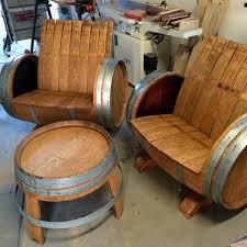 furniture made from wine barrels. Garden Furniture Made From Wine Barrels A