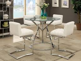 piero modern pub table set piero modern pub table set with white chairs