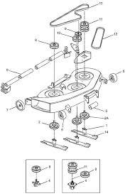 craftsman lawn tractor steering diagram