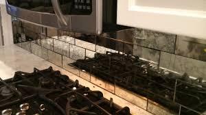 Mirror Tile Backsplash Kitchen Small Kitchen Design And Decoration Using Cook Burner Kitchen