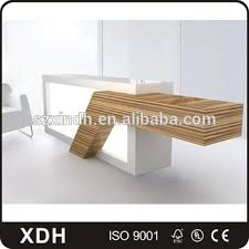 office reception counter. Custom Made Wooden Hotel Reception Desk , Office Counter Table Design
