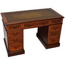antique satinwood inlaid mahogany