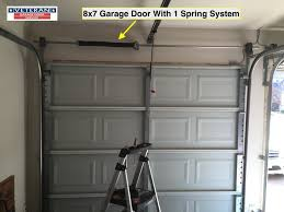 garage ideas torsion spring conversion chart replace garage door extension cable for by owner difficulty