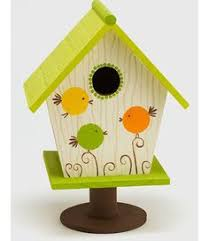 Roly Poly Birdhouse {Plaid} #paint #craft - I made mine in different