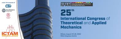 Applied Mechanics And Design Ictam 2020 25th International Congress Of Theoretical And