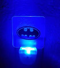 Blue Plug In Night Light Batman Custom Acrylic Blue Led Plug In Night Light