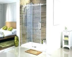 shower door cost of glass large size sliding frameless doors range easy fit quadrant