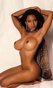 Beautiful ebony nude women