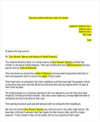 Rental Letter Template Tenant Letter Templates 9 Free Sample Example Format