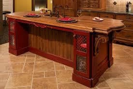 terrific kitchen tile floor ideas. Lovely Kitchen Floor Ceramic Tile Design Ideas Feat Rustic Island Table With Wooden Countertop And Black Terrific