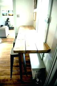 ikea breakfast bar table kitchen wall mounted attractive and stools set