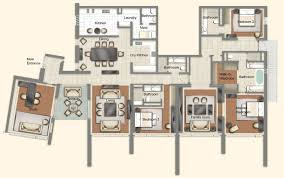 four bedroom apartment. four bedroom suite. for apartment n