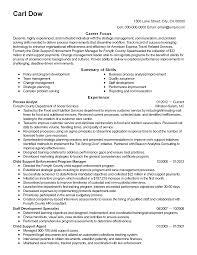 Resume Six Sigma Black Belt Resume