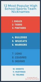 list of sports teams 32 best sports team names basketball baseball softball football