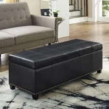 tufted ottoman coffee table ottoman furniture footrest with storage storage ottoman set
