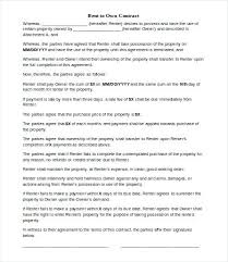 Free Printable 6 Month Lease Agreement Form. Rent Agreement Form ...