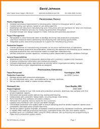 7 Internal Resume Examples Emt Format Examp Sevte