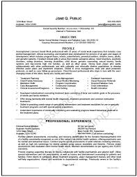 social workers resumes social work resume expertise 79 remarkable examples of job resumes