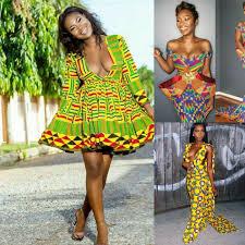 Ghanaian Ankara Designs African Dresses Ankara Styles Nigerian Fashion Ghana