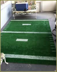 football field rug in new england patriots 2017 super bowl